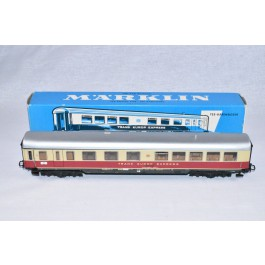Marklin H0 4088 TEE Barwagon 1e klasse