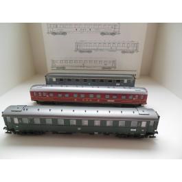 Marklin H0 42942 Set 3 Personenwagons