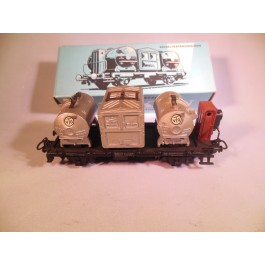 Marklin H0 4625 Containerwagon met sluitverlichting
