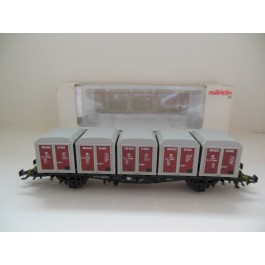 Marklin H0 4767 Container wagon