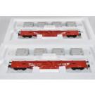 Marklin H0 47076 Set Container wagons