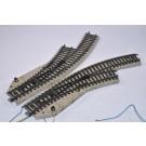 Marklin H0 5140 Set M-Rails Elektrische Bochtwissels
